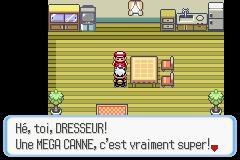 comment avoir une super canne dans pokemon saphir alpha