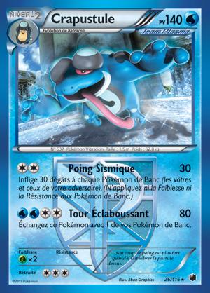 Tcg les premi res images de glaciation plasma pok mon france - Carte pokemon team plasma ...