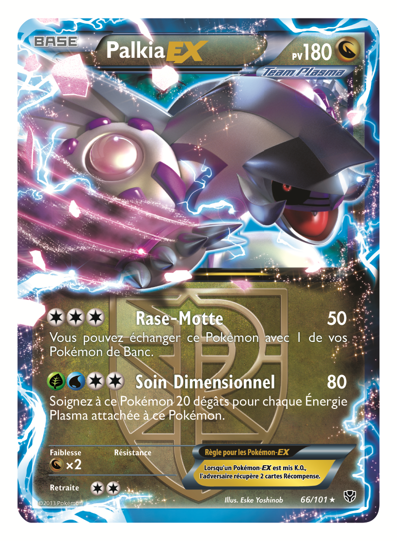 Date et scans hd d 39 explosion plasma pok mon france - Photo de carte pokemon ex ...