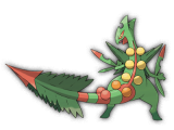 Pokemon ROSA - Art Mega-Jungko