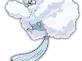 Pokemon ROSA - Art Mega-Altaria