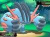 Pokemon ROSA - Mega-Laggron 01