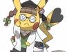 Pokemon ROSA - Pikachu Docteur