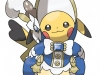 Pokemon ROSA - Pikachu Lady