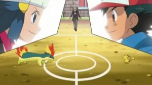 épisode pokémon une rencontre enflammé