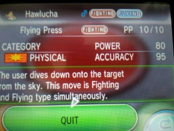 Pokémon XY - Flying Press