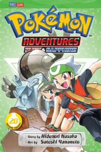 Pokémon Adventures Tome 20