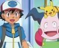 M. Mime toujours heureux de revoir Sacha et Pikachu