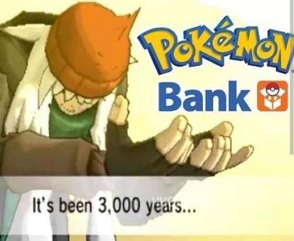 Banque Pokemon - 3000 Years
