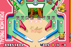 Pinball RS - Game Over