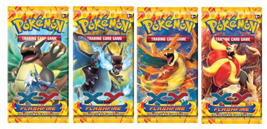 Pokemon TCG XY - Boosters Flashfire