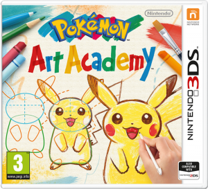 Pokémon Art Academy - Jaquette Europe