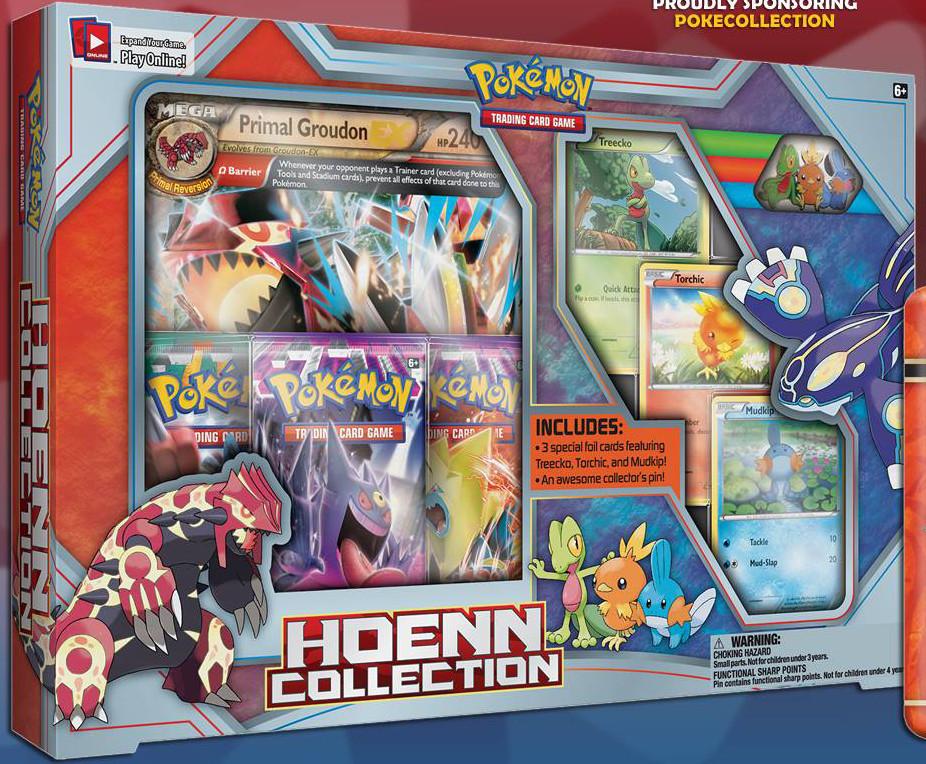 Premier visuel pour Primo Groudon-EX Hoenn-Collection-Box