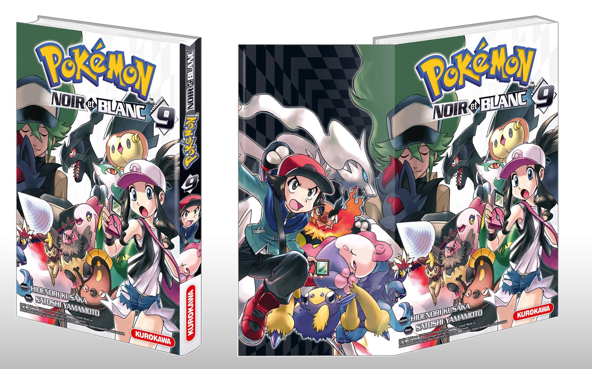 Le tome 9 du manga noir et blanc enfin annonc pok mon france - Liste des pokemon noir et blanc ...