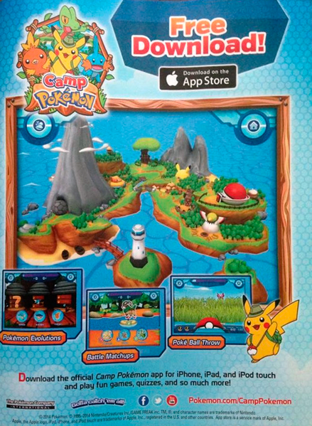 Camp Pokémon National Geographic Kids