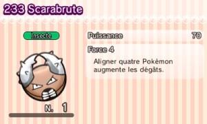 Pokemon Shuffle - Scarabrute Dex