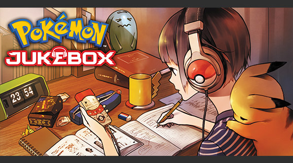 Pokémon Jukebox sort en Europe !