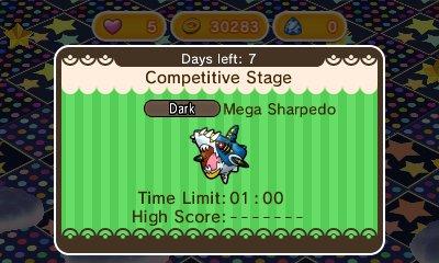 Méga-Sharpedo Shuffle