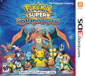 Jaquette Pokemon Super Mystery Dungeon