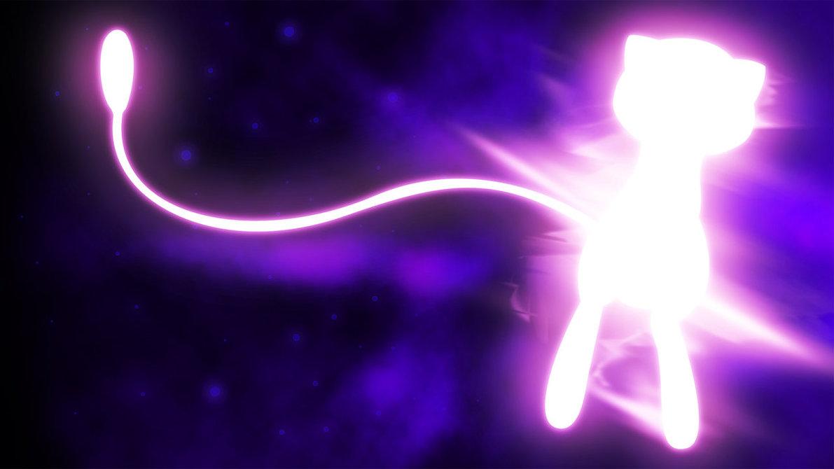 Glowing-Mew-mew-pokemon-35709781-1191-670
