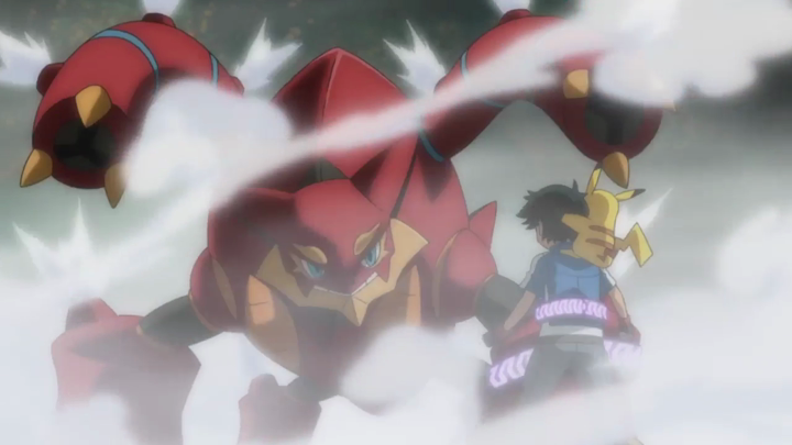 Film Pokémon 19 - Volcanion Sacha