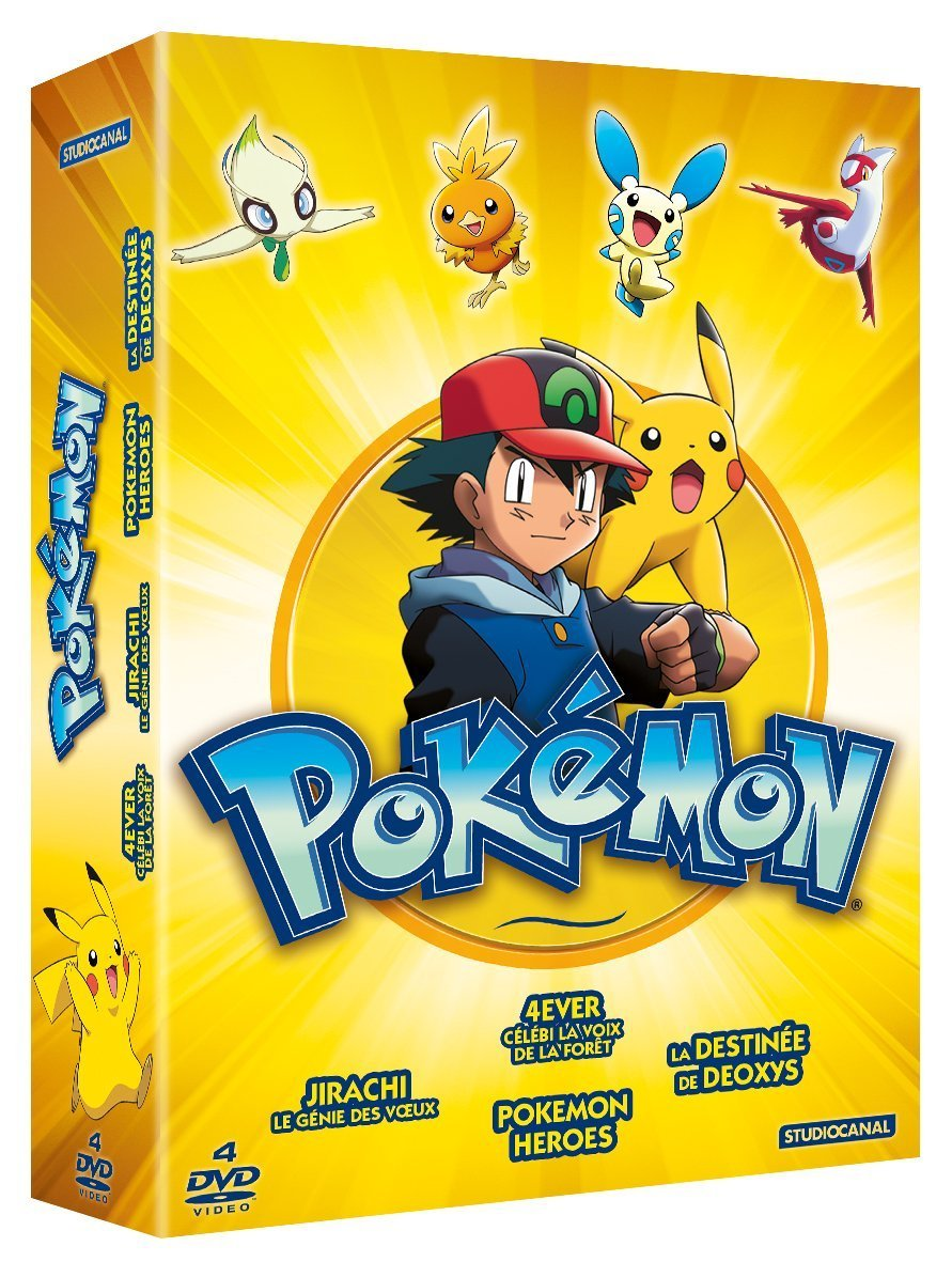 Pokémon - Coffret 4 films