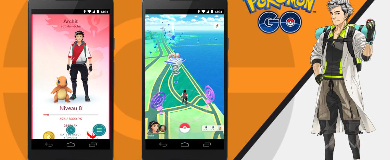 Pokemon GO - Copain Pokemon