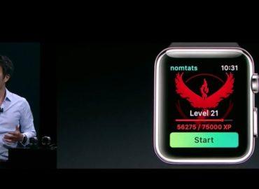 Pokemon Go - Apple Watch 1