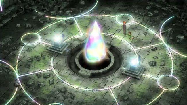 La Mégalithe, une pierre légendaire liée aux Méga-Evolutions, a été révélée dans l'épisode Méga-Evolution acte II