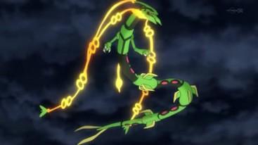 pokémon méga évolution 002 méga rayquaza