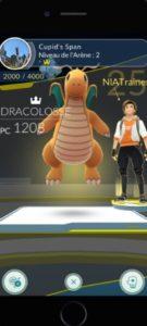 pokémon go entrainement arène