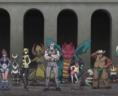 Presque tous les champions d'Unys sont présents pour lutter.