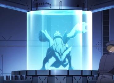 Impossible de ne pas s'arrêter sur Kyurem, prisonnier de la Team Plasma.